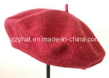 Fashion Wool Beret with Fancy Yarn Knitted for Women