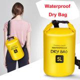 Sport Waterproof Dry Backpack Bag with Shoulder Straps