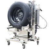 Systematic Car Auto Repair Lifting Equipment by Wheel Tyre Tire Tool Trolley