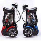 4 Wheel Dual Motor Mobility Folding Electric Scooter Bike for Adult