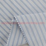 99%Cotton 1%Lurex Fabric 50s*50s /126*84 Stripe Yarn Dyed for Men's Luxury Shirts& Blouse