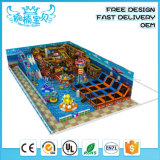 2019 Competitive Price Professional Children Softplay Indoor or Outdoor Playgrounds Equipment with Large Slide