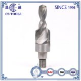 Solid Carbide Thread Shank Drill Bit with Inner Colding Hole for Processing Composites
