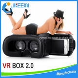 New Head Mount Plastic 3D Glasses Vr Virtual Reality Glasses Google Cardboard Movies Games for 3.5 to 5.7 Inch Smartphone