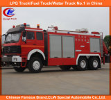 North Benz Beiben Fire Rescue Water Tank Fire Fighting Truck Price