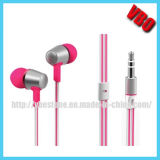 Fashionable Flat Cable Earphones for Music