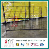 Metal Frame Mobile Fence/ High Security 4mm Wire Temporary Fence