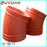 Ductile Iron ASTM a 536 Grooved Plumbing Elbow for Fire Fighting System