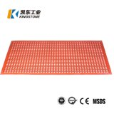 Good Price Rubber Non Slip Floor Mat with Drainage Hole for Commercial Kitchen