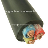 0.6/1kv 3X70mm2 H07RN-F Cable Rubber Insulation and Sheath
