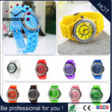Geneva Silicone Jelly Wristband Quartz Analog Wrist Watch (DC-1247)