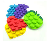 Eco-Friendly Fruit Shape Food Grade Silicone Ice Molds
