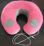 OEM New Pink Music Travel Pillows