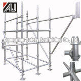 Q235 Steel Cuplock Scaffold System for Building Bridge