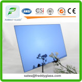 1.5mm-6mm Ford Blue Silver Tinted Mirror with Double Coat