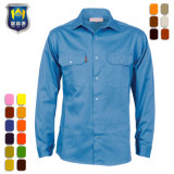 Multi Color Long Short Sleeve Pilot Uniform Work Shirt Workwear