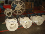 Cable Drum with Hysteresis Coupling for Motor Hydraulic Grab