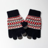 Wholesale Small MOQ Hot Sale Knitted Touch Magic Gloves