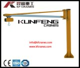 Long Performance Jib Crane with Hoists Used in Construction Site