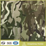 Nylon Cordura Camouflage Waterproof Printed Tactical Ripstop Fabric with PU Coated