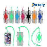 Smart Cell Phone Lanyard Case Cover Credit Card Holder Silicone Necklace Strap