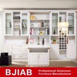 White Oak Modern Metal Home Furniture Aluminum Wine Cabinet