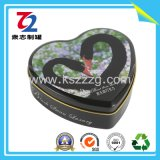 Heart-Shaped Tinplate Can for Gift Tin Can Packaging