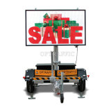 G040102 LED Display Solar Powered Remote Control Variable Message Signs Full Color LED Sign Board