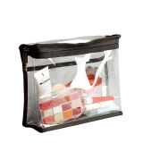 Direct Factory Cheap Makeup Cosmetic Transparent PVC Bag for Beauty Tools