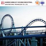 Steel Structure Design Outdoor Playground Big Roller Coaster