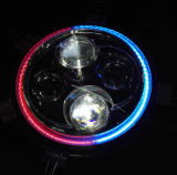 "7"" High Low Beam Angel Eyes Motorcycle Headlights with E-MARK"