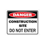 Sign Safety Warning Plastic PP Danger Security Signs Workplace