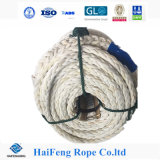 High Resistance 12 Strand Hmpe Rope with Coating, Uhmpe Rope