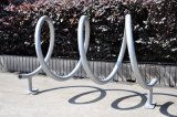 Green Powder Coated Outdoor Bike Rack Manufacturer Bike Rack
