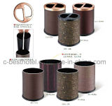 Ashtray Stand Bin and Trash Can, Suitable for Hotel Lobby or Garage
