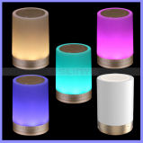 7 Colors Changering LED TF Aux Bluetooth Light LED Sense Speaker with Hook
