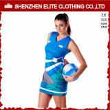 Hot Sale Female Cheap Club Professional Netball Sportswear Manufacturer (ELTNBJ-142)