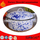 5qt Enamel Stock Pot Kitchenware Home Equipment Porcelain