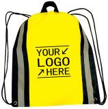 Reflective Drawstring Backpack Bag Made in China