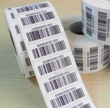 Customized Adhesive Sticker with Barcode