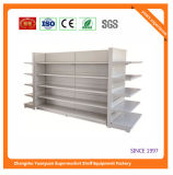 Single Sided Supermarket Metal Wall Shelf