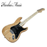 Hanhai Music / St Style Electric Guitar with Black Pickguard