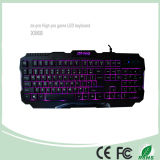 Top Selling 3 Color LED Backlight Keyboards (KB-1901EL)