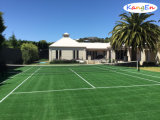 Filed Green Artificial Grass for Tennis Court