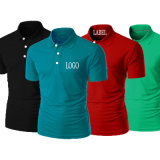 Hot Sale High Quality Bulk Wholesale 100% Cotton Printing Plain Mens Polo Shirt with Private Label