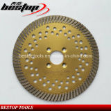 6 Inch Turbo Granite Saw Blade with Flang Hole