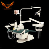 Hot Selling Ce & FDA Approved Gladent Dental Chair with Rotatable Unit Box