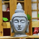 Religious Craft Carving Buddha Head Figurine Garden Decoration