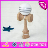Wholesale 2015 High Quality Wooden Kendama Balls Toy, Wooden Toy Kendama Balls in Bulk, Kendama Balls for Christmas Gifts W01A080