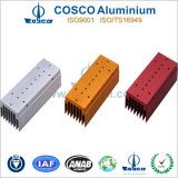 Anodized Aluminium/Aluminum Extrusion for Heat Sink with High Precision Machining